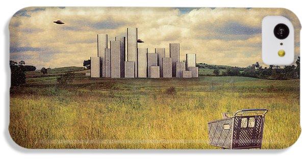 Metropolis IPhone 5c Case by Tom Mc Nemar