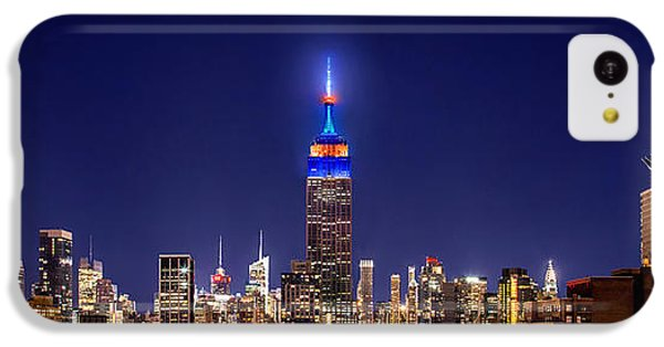 Empire State Building iPhone 5c Case - Mets Dominance by Az Jackson