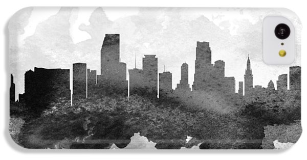 Miami Cityscape 11 IPhone 5c Case by Aged Pixel