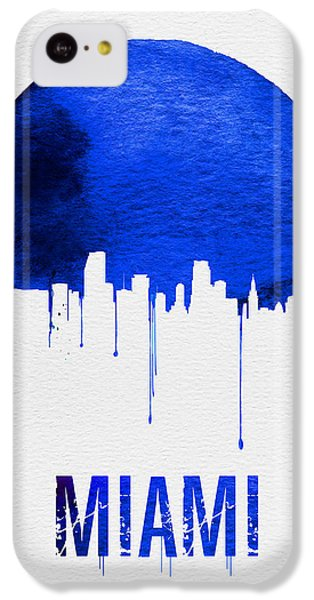 Miami Skyline Blue IPhone 5c Case