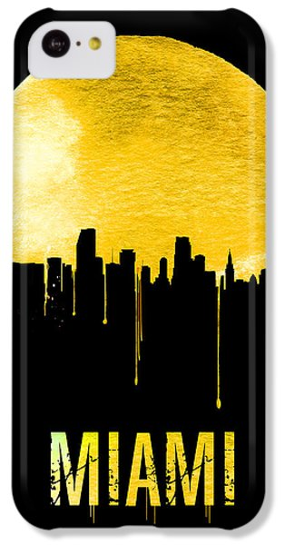 Miami Skyline Yellow IPhone 5c Case