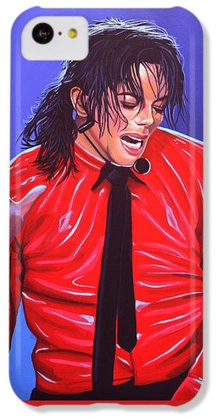 Michael Jackson 2 IPhone 5c Case