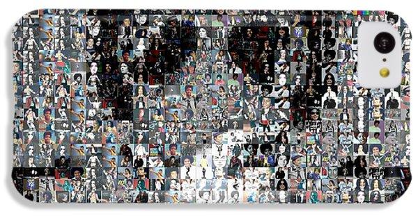 Michael Jackson Glove Montage IPhone 5c Case by Paul Van Scott