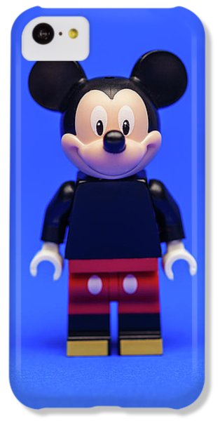 Mouse iPhone 5c Case - Mickey Mouse by Samuel Whitton