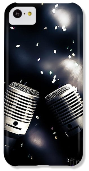Musical iPhone 5c Case - Microphone Club by Jorgo Photography - Wall Art Gallery