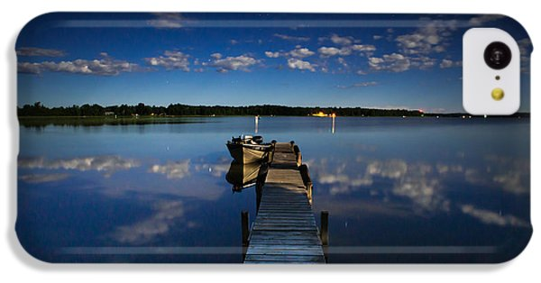 Midnight At Shady Shore On Moose Lake Minnesota IPhone 5c Case