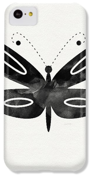 Midnight Butterfly 1- Art By Linda Woods IPhone 5c Case