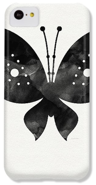 Midnight Butterfly 2- Art By Linda Woods IPhone 5c Case