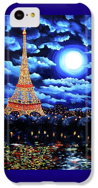 Midnight In Paris IPhone 5c Case by Laura Iverson