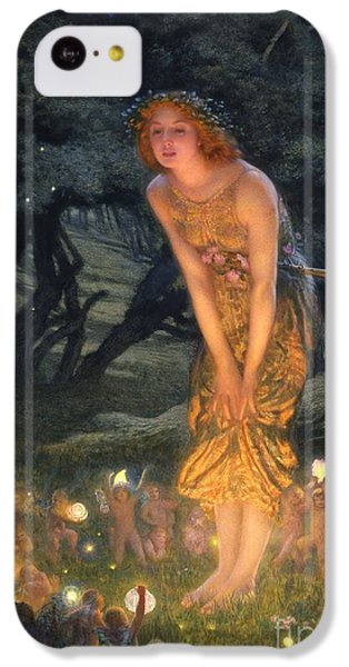 Midsummer Eve IPhone 5c Case by Edward Robert Hughes