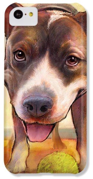 Bull iPhone 5c Case - Live. Laugh. Love. by Sean ODaniels