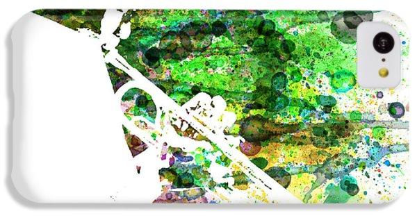 Saxophone iPhone 5c Case - Miles Davis 2 by Naxart Studio