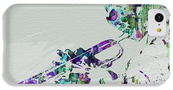 Saxophone iPhone 5c Case - Miles Davis by Naxart Studio