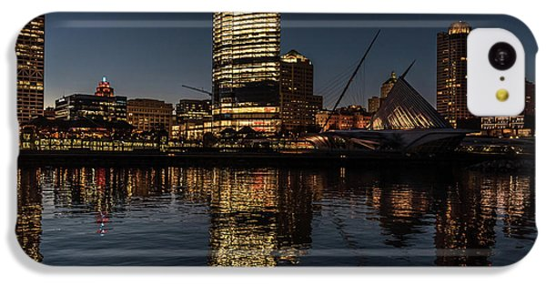 IPhone 5c Case featuring the photograph Milwaukee Reflections by Randy Scherkenbach