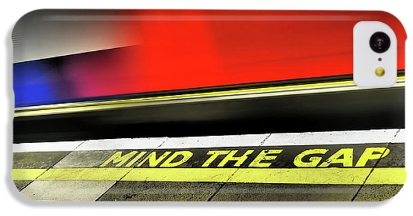 Mind The Gap IPhone 5c Case by Rona Black