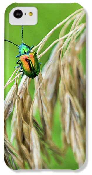 IPhone 5c Case featuring the photograph Mini Metallic Magnificence  by Bill Pevlor