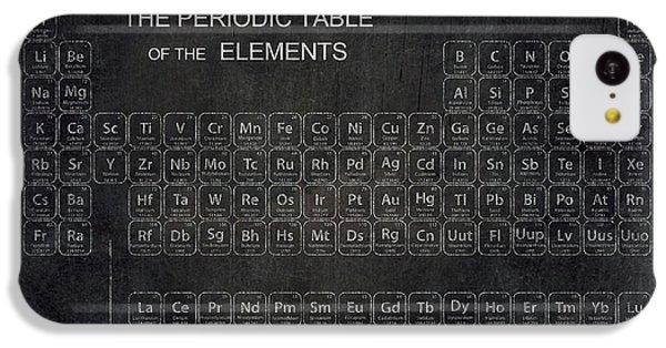 Minimalist Periodic Table IPhone 5c Case by Daniel Hagerman