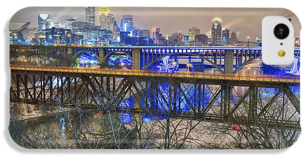 Minneapolis Bridges IPhone 5c Case by Craig Voth