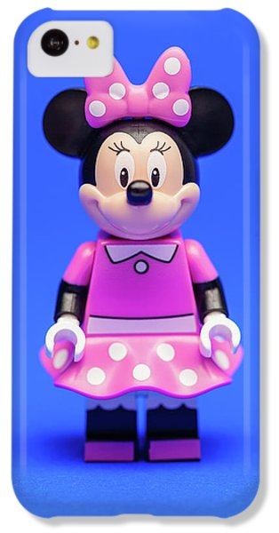 Mouse iPhone 5c Case - Minnie Mouse by Samuel Whitton