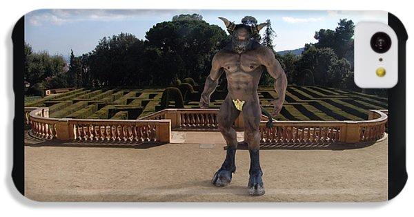 Minotaur In The Labyrinth Park Barcelona. IPhone 5c Case