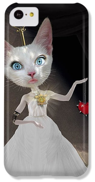 Cuckoo iPhone 5c Case - Miss Kitty by Juli Scalzi