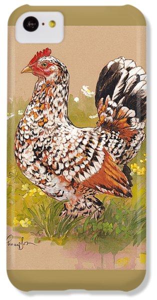 Chicken iPhone 5c Case - Miss Millie Fleur by Tracie Thompson