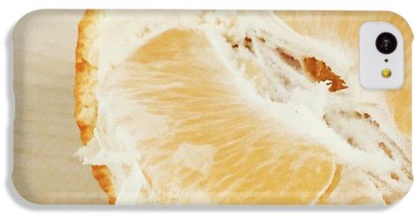 Orange iPhone 5c Case - Tangelo by Nancy Ingersoll