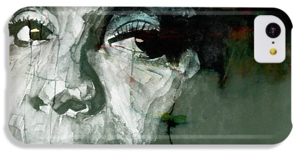 Rhythm And Blues iPhone 5c Case - Mississippi Goddam by Paul Lovering