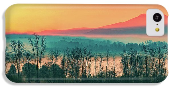 Misty Mountain Sunrise Part 2 IPhone 5c Case by Alan Brown