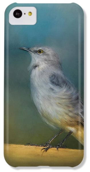 Mockingbird On A Windy Day IPhone 5c Case by Jai Johnson