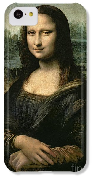 Portraits iPhone 5c Case - Mona Lisa by Leonardo da Vinci