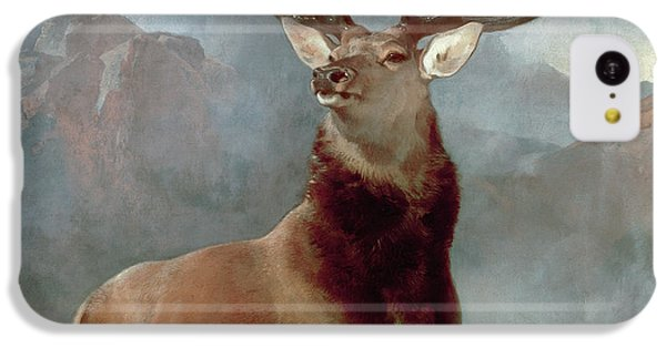 iPhone 5c Case - Monarch Of The Glen by Sir Edwin Landseer