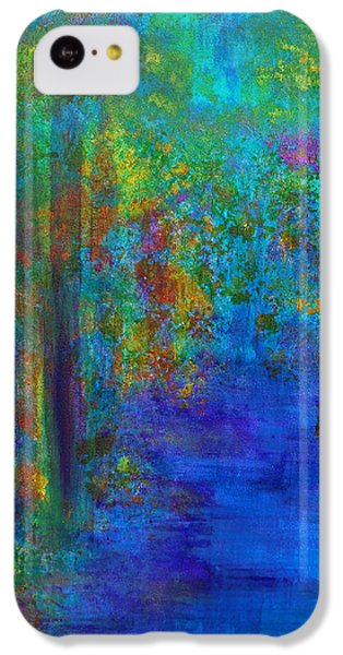 Monet Woods IPhone 5c Case by Claire Bull