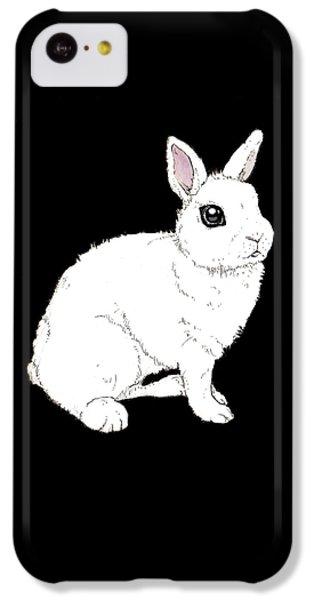 Monochrome Rabbit IPhone 5c Case