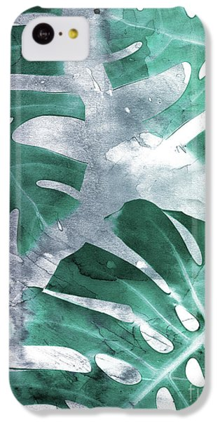 Monstera Theme 1 IPhone 5c Case by Emanuela Carratoni