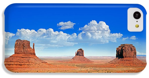 Desert iPhone 5c Case - Monument Vally Buttes by Jane Rix