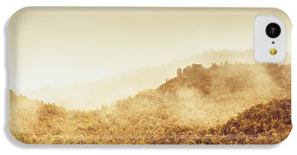 Mount Rushmore iPhone 5c Case - Moody Mountain Morning by Jorgo Photography - Wall Art Gallery
