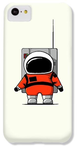 Moon Man IPhone 5c Case by Nicholas Ely