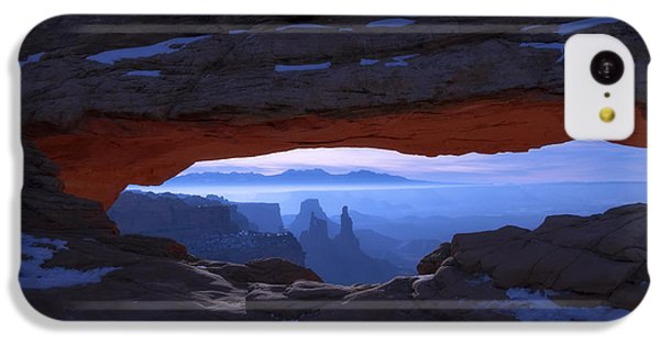 Desert iPhone 5c Case - Moonlit Mesa by Chad Dutson