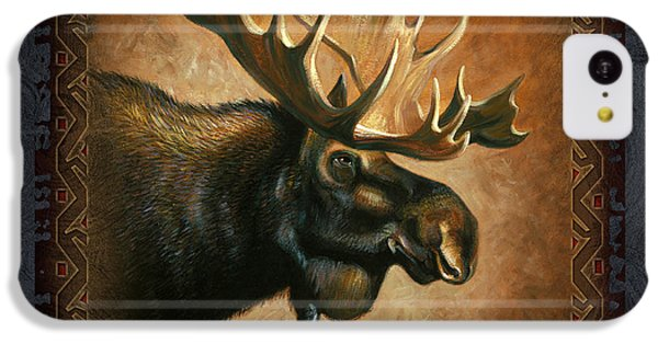 Wildlife iPhone 5c Case - Moose Lodge by JQ Licensing