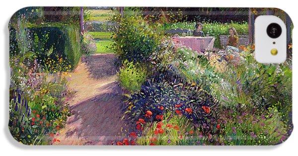 Garden iPhone 5c Case - Morning Break In The Garden by Timothy Easton