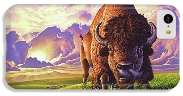 Mammals iPhone 5c Case - Morning Thunder by Jerry LoFaro