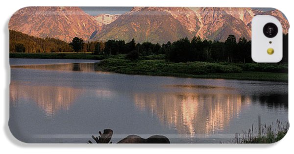 Mountain iPhone 5c Case - Morning Tranquility by Sandra Bronstein