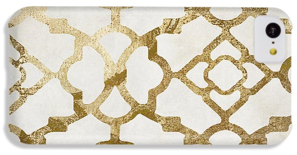 Pattern iPhone 5c Case - Moroccan Gold I by Mindy Sommers