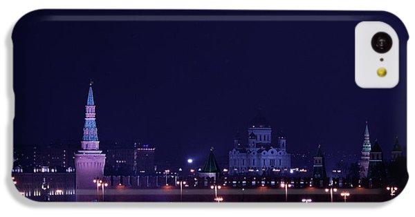 Moscow Skyline iPhone 5c Case - Moscow Kremlin by Margarita Buslaeva