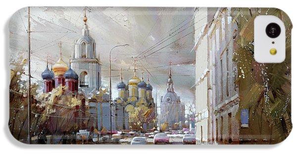 Moscow Skyline iPhone 5c Case - Moscow. Varvarka Street. by Ramil Gappasov
