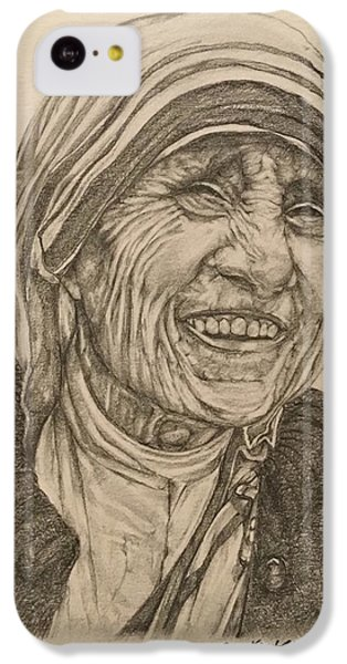 Mother Theresa Kindness IPhone 5c Case by Kent Chua