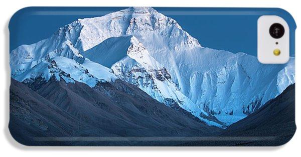 Mount Everest At Blue Hour, Rongbuk, 2007 IPhone 5c Case