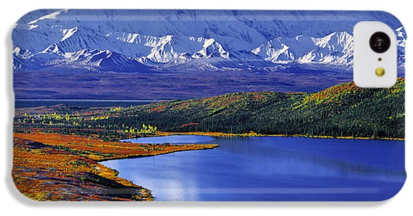 Mount Mckinley And Wonder Lake Campground In The Fall IPhone 5c Case