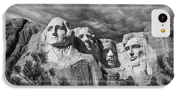 Mount Rushmore II IPhone 5c Case by Tom Mc Nemar
